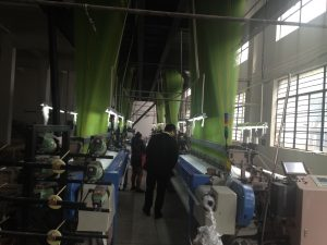 Our imported machines from Germany for the high density jacquard or plain fabrics